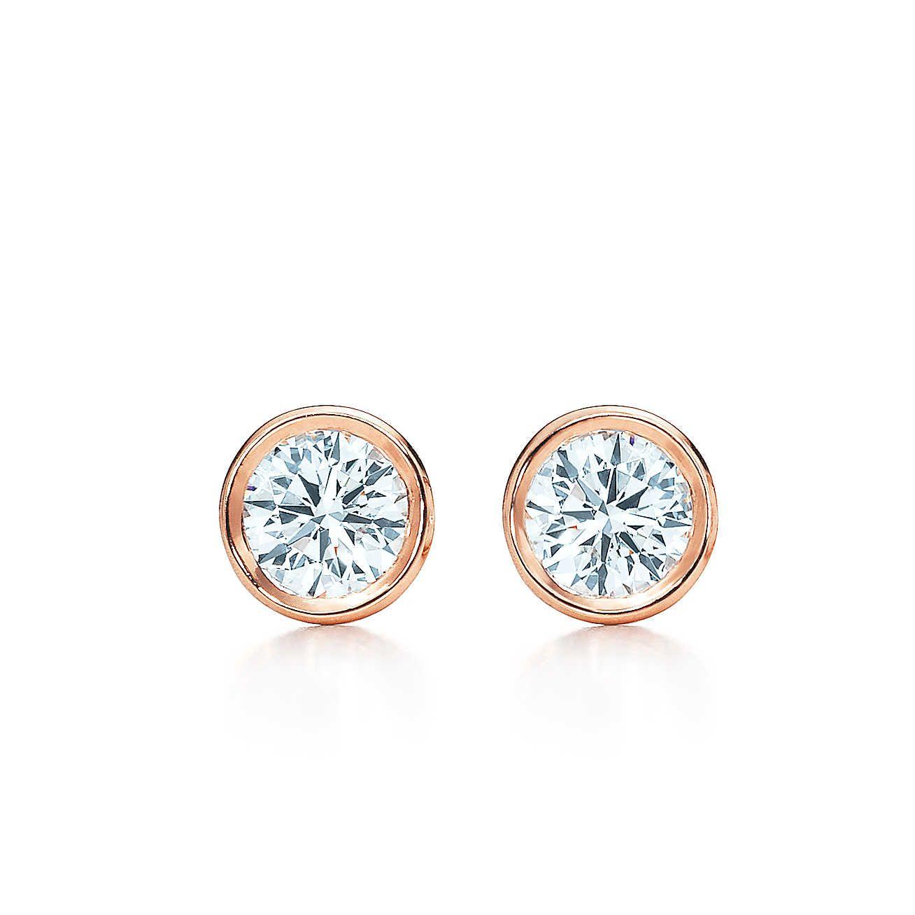 Diamond Elsa Peretti Diamonds By The Yard Earrings