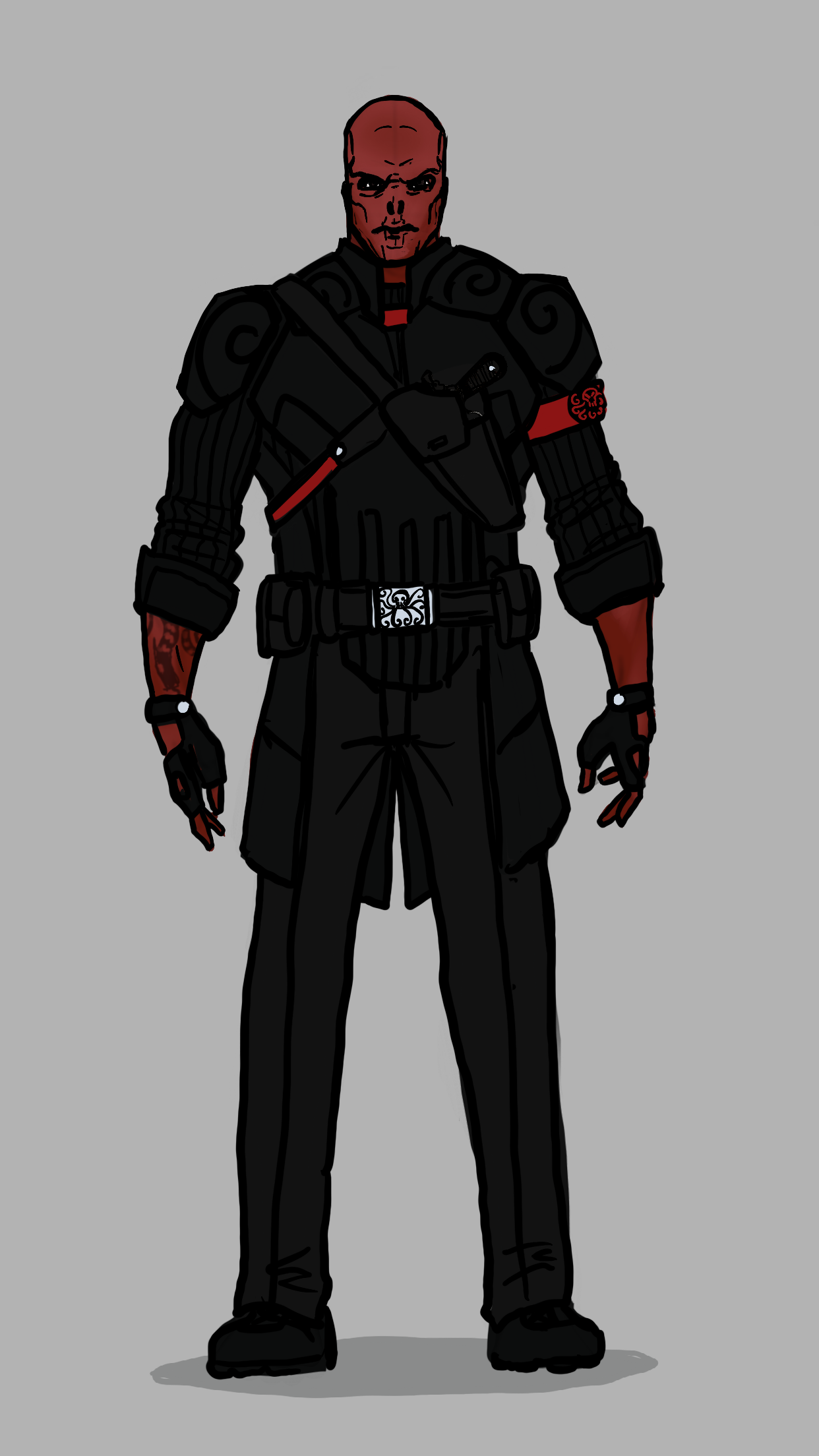 Red Skull Comics Quick Redesign Marvel Villains Marvel And Dc Characters All Marvel Heroes