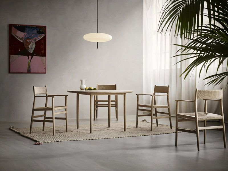 Esstisch ARV TABLE rund Moderne esszimmerstühle