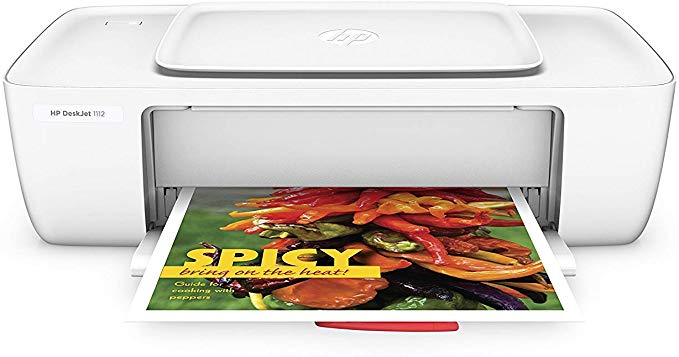 Amazon Com Hp Deskjet 1112 Compact Printer F5s23a F5s23a B1h Office Products Color Printer Best Printers Printer