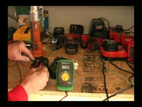Part2 How To Revive Rejuvenate Fix Rechargeable Nicd Battery For Cordless Drill Youtube Power Tool Batteries Cordless Tools Dead Car Battery