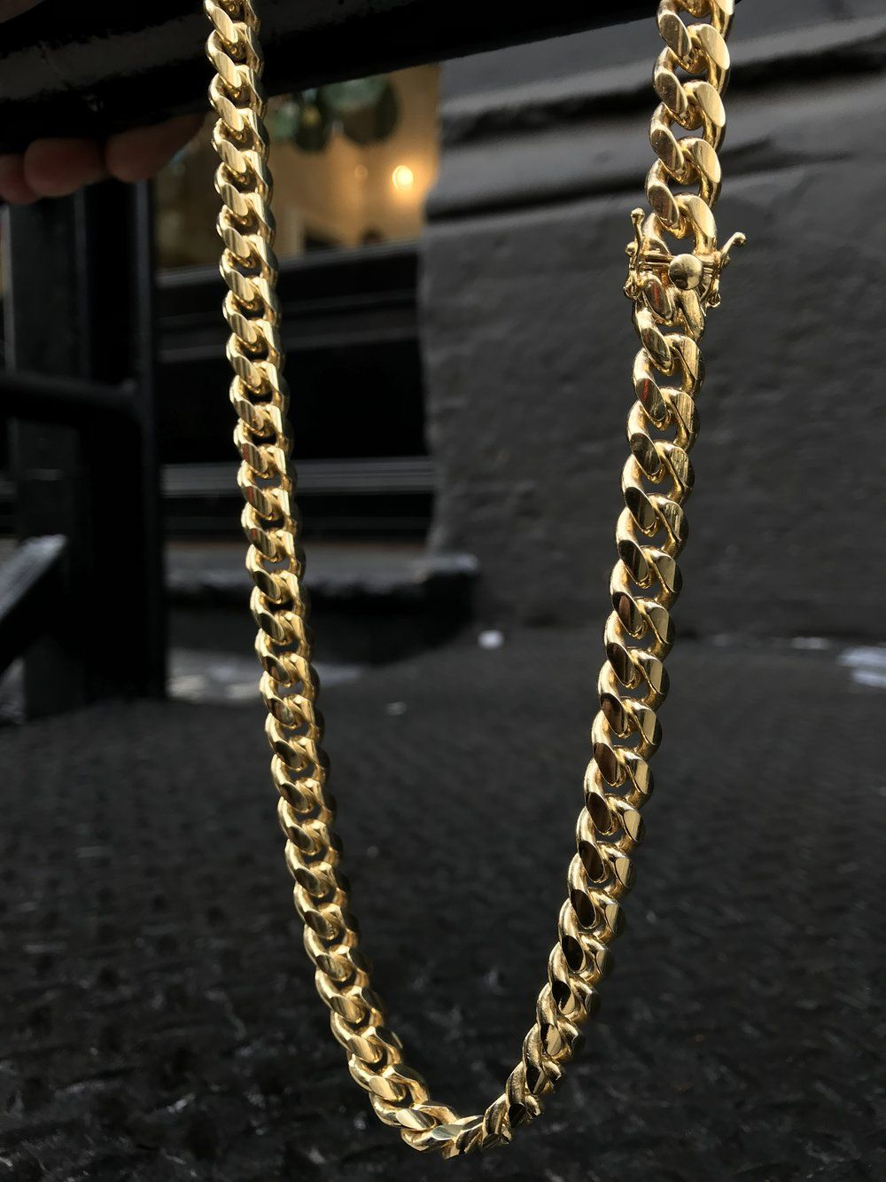 Miami Cuban Link Chain 10mm Vermeil Cuban Link Chain Buy Jewellery Online Miami Cuban Link Chain