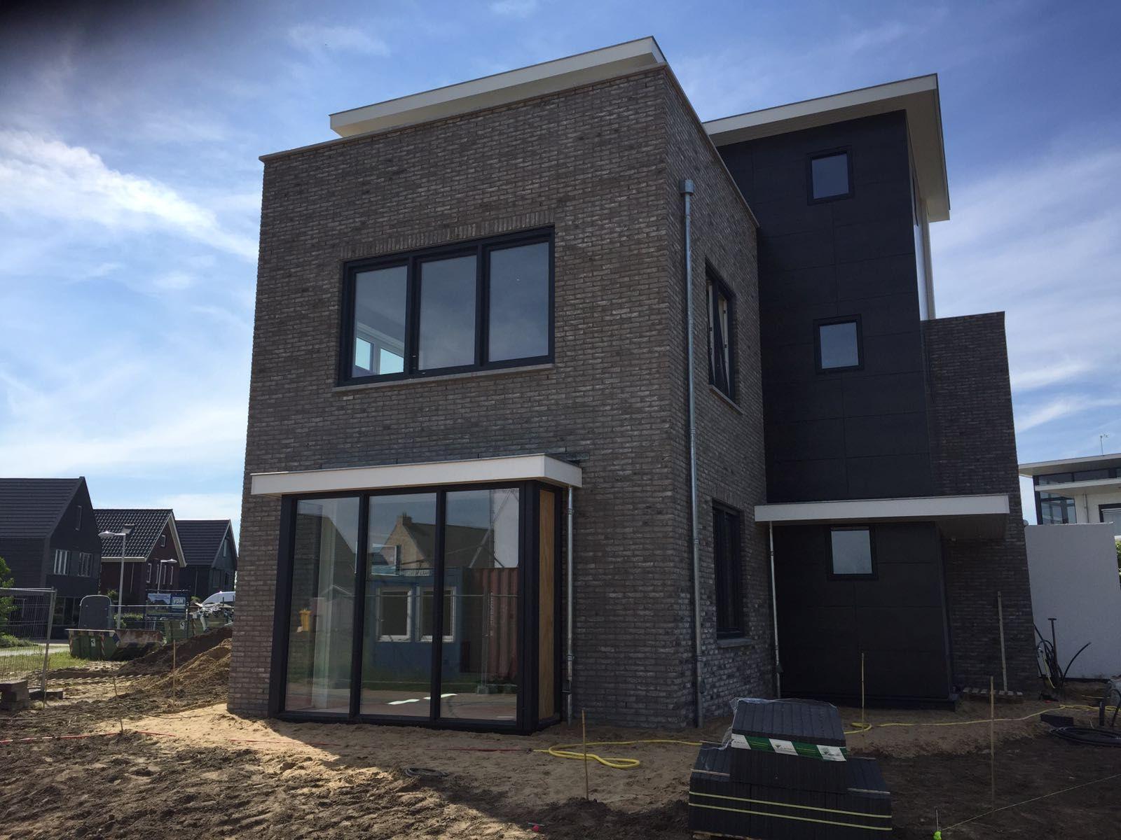 Barneveld realisatie van een nieuwbouw vrijstaande woning in moderne