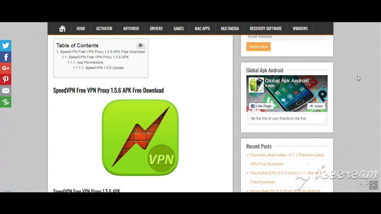 SpeedVPN Free VPN Proxy 1 5 6 APK Free Download