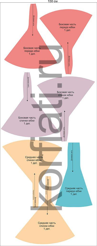 fabfa8b0c patron-para-hacer-una-falda-larga-corte-sirena-7 | sewing | Patrones ...