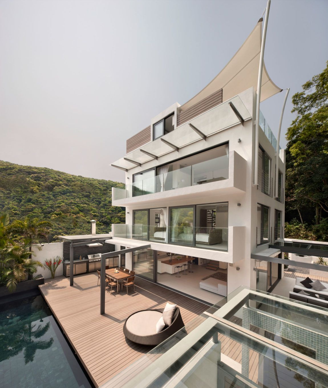 Home Design Ideas Hong Kong: Original Vision Designs A Contemporary Home In Clearwater
