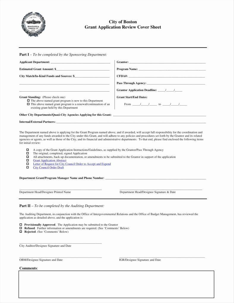 Grant Application Form Template Elegant 9 Funding Application Form