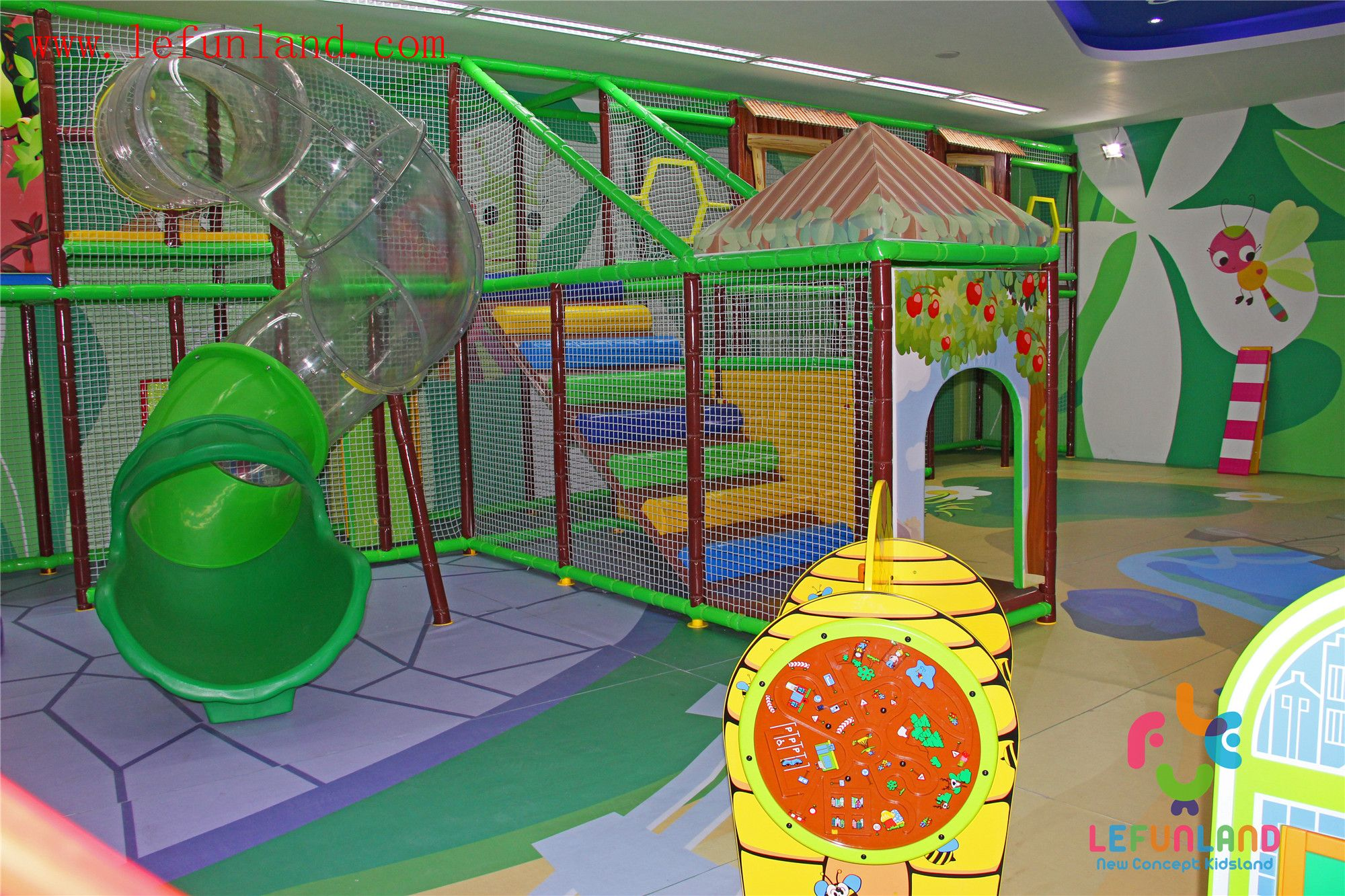 Wwwlefunlandcom Amusement Park Equipment,Kids Soft Indoor Playground, Soft Play