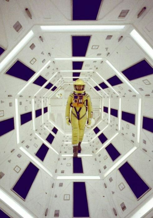 Couloir Hexagone 2001 A Space Odyssey Space Odyssey Stanley Kubrick