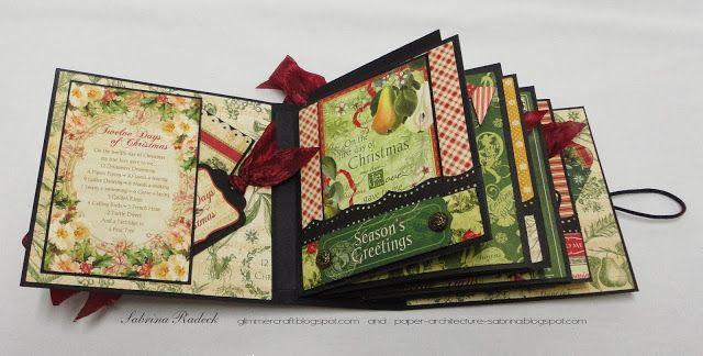 Aspiring to Creativity: Lantern and Mini - Graphic 45 December Challenge: 12 Days of Christmas