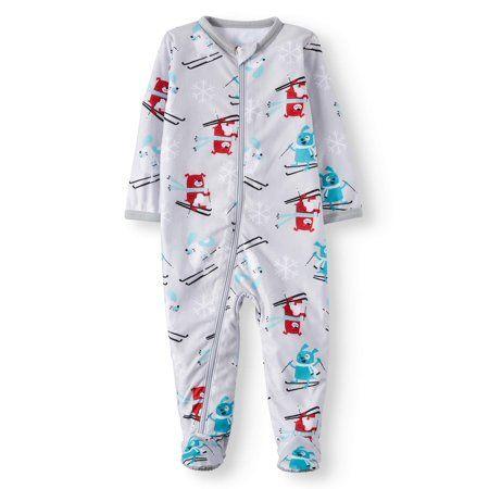 SpongeBob SquarePants Little /& Big Boys Sleeper Pajama