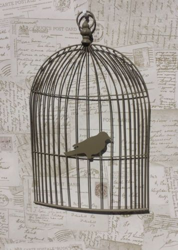 Bird Cage Memo Board Wall Art Vintage Chic French Country Cages Amazing Birdcage Memo Board