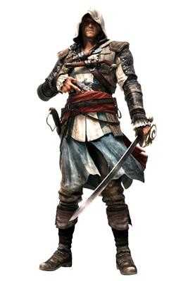 Edward Kenway Main Character In Assassins Creed Iv Black Flag