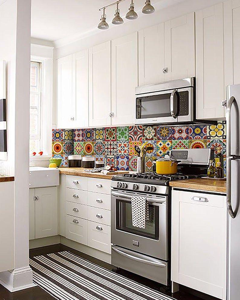 carrelage aufkleber küche aufkleber wandaufkleber set von 24