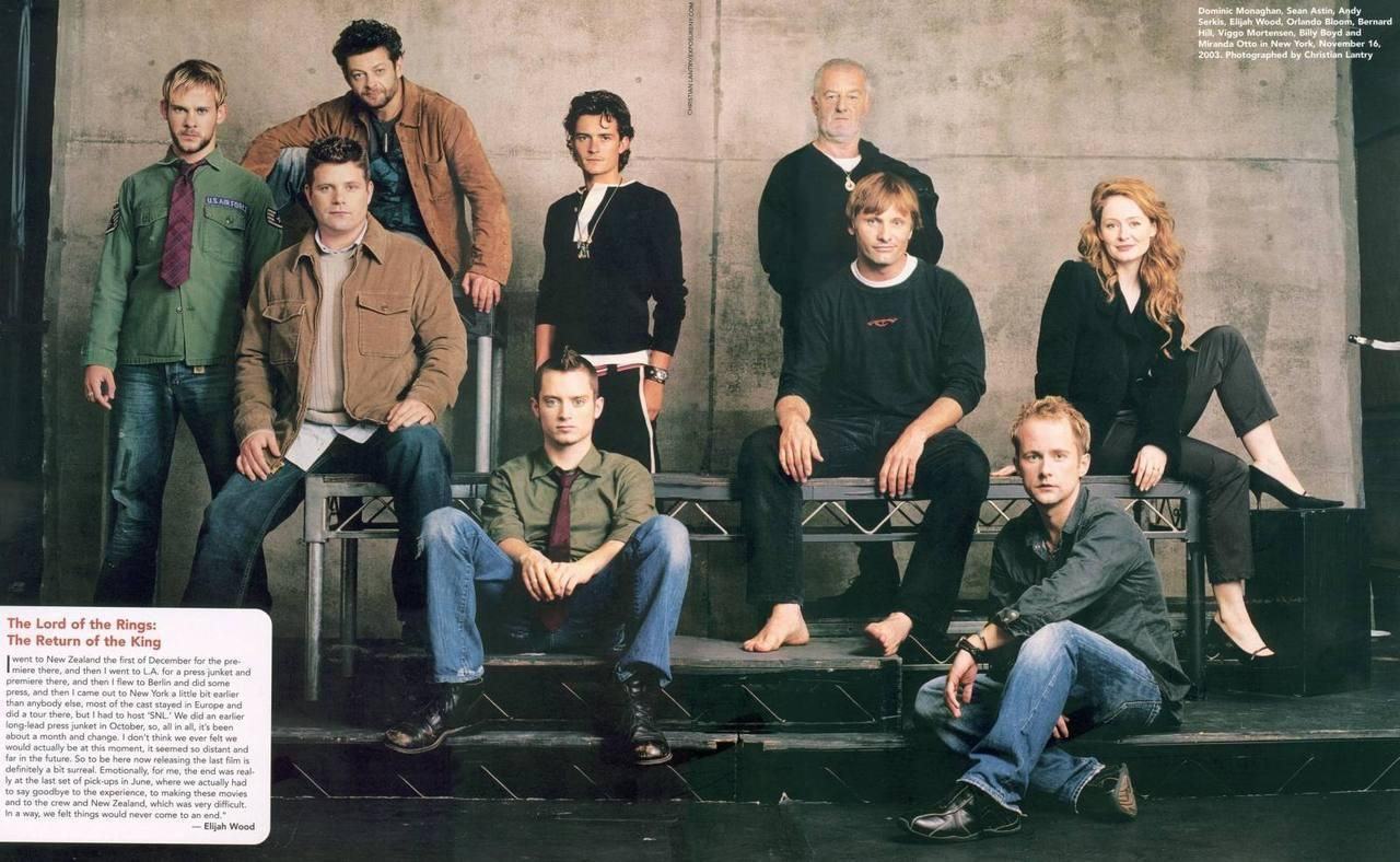 Lord Of The Rings Photo Lotr Cast Lotr Cast Lord Of The Rings Lotr