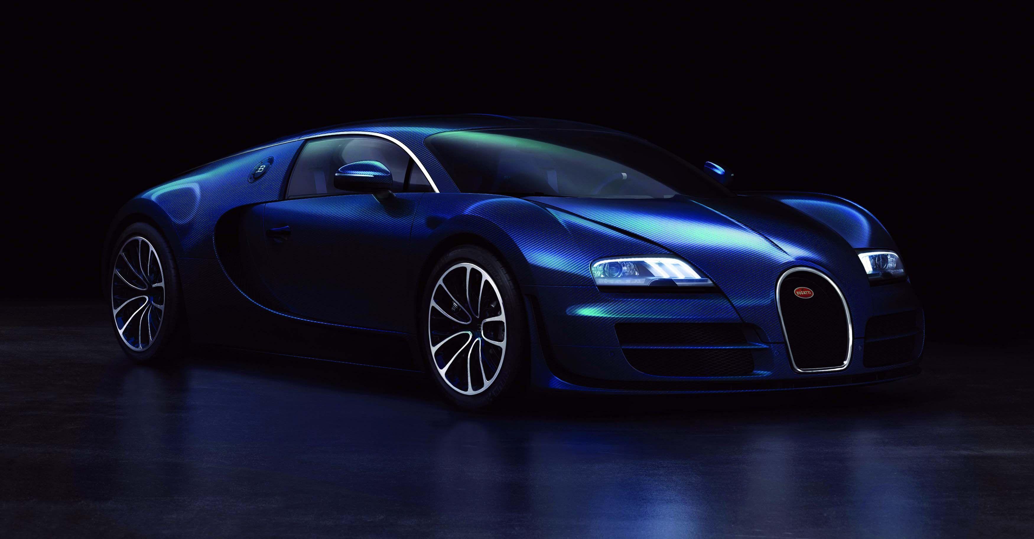 Blue Bugatti Veyron 2016 Desktop Wallpapers Hd Morewallpapers Com Bugatti Veyron Bugatti Veyron Super Sport Super Sport Cars