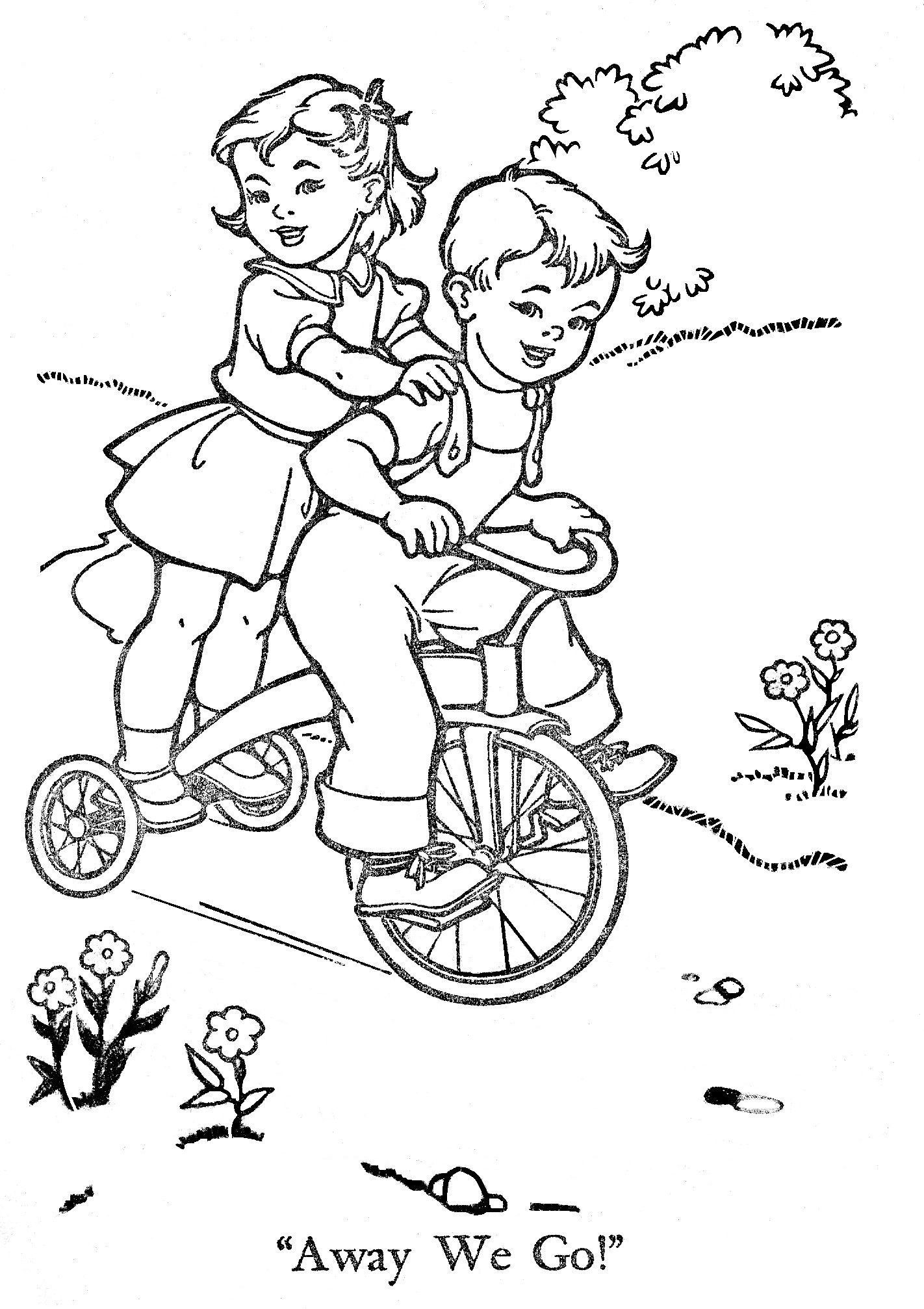 vintage coloring pages # 7