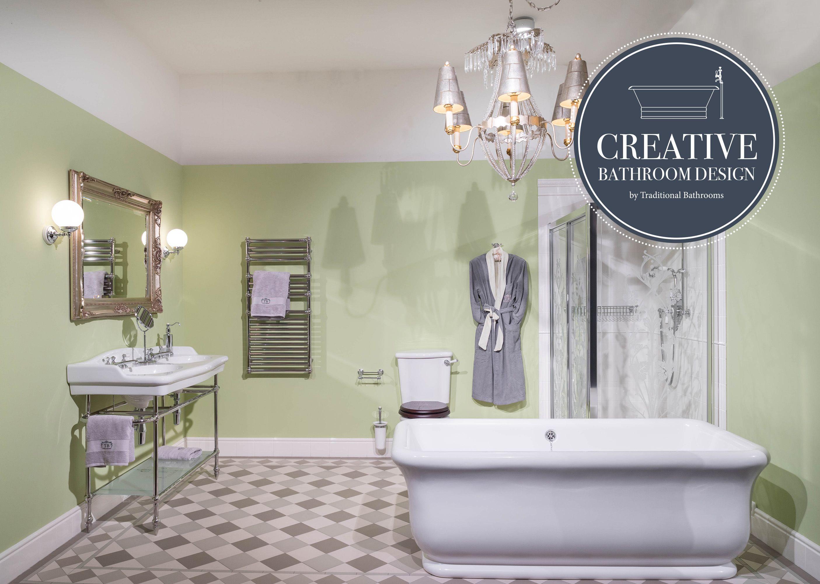 Retro Badezimmer Badezimmer Traditionelle Bader Badezimmer Design