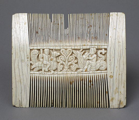 late 11- early 12th cent Liturgical Comb, Italian  The Met