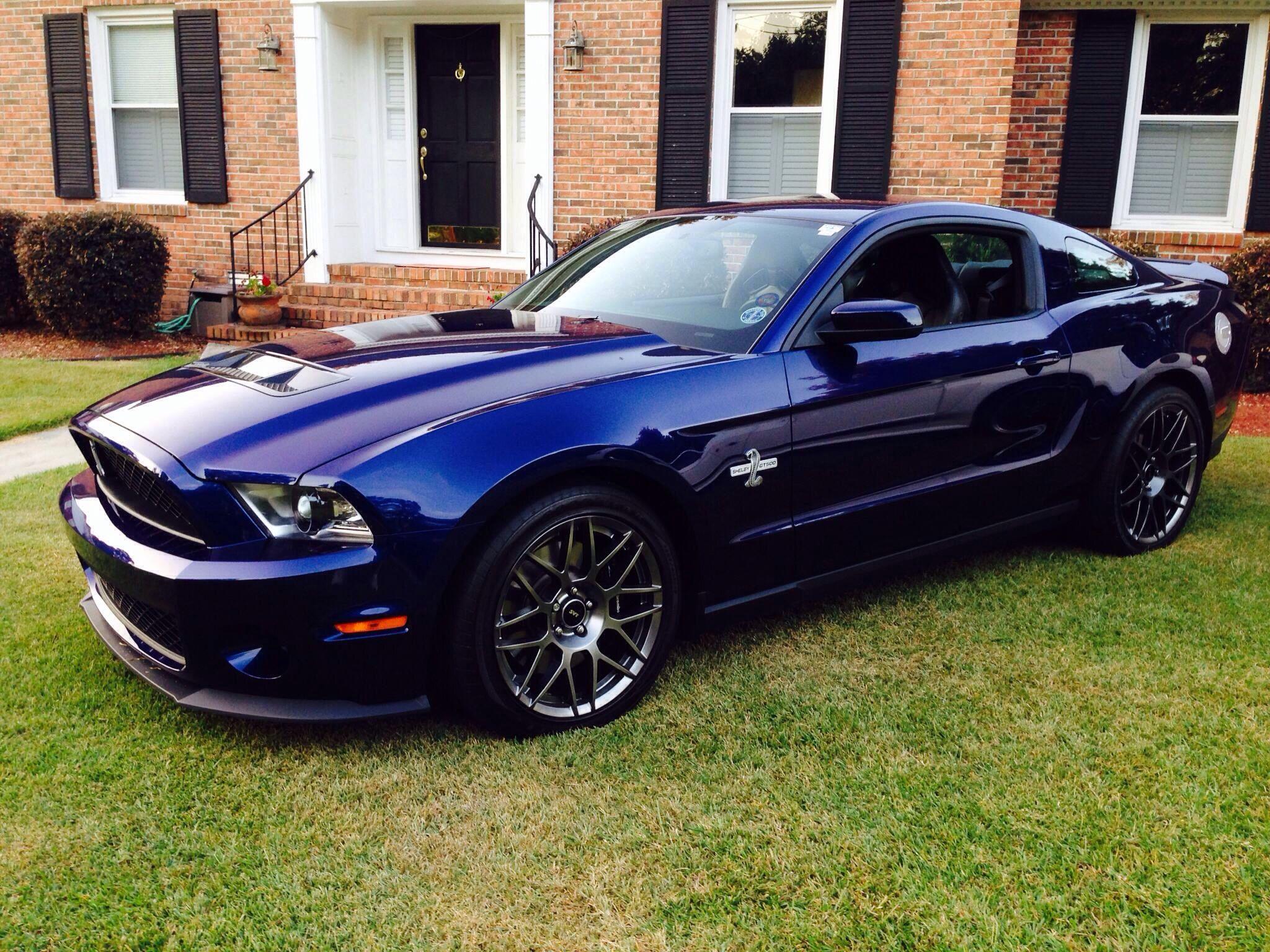 My 2012 Shelby Gt500 In Kona Blue My Mistress