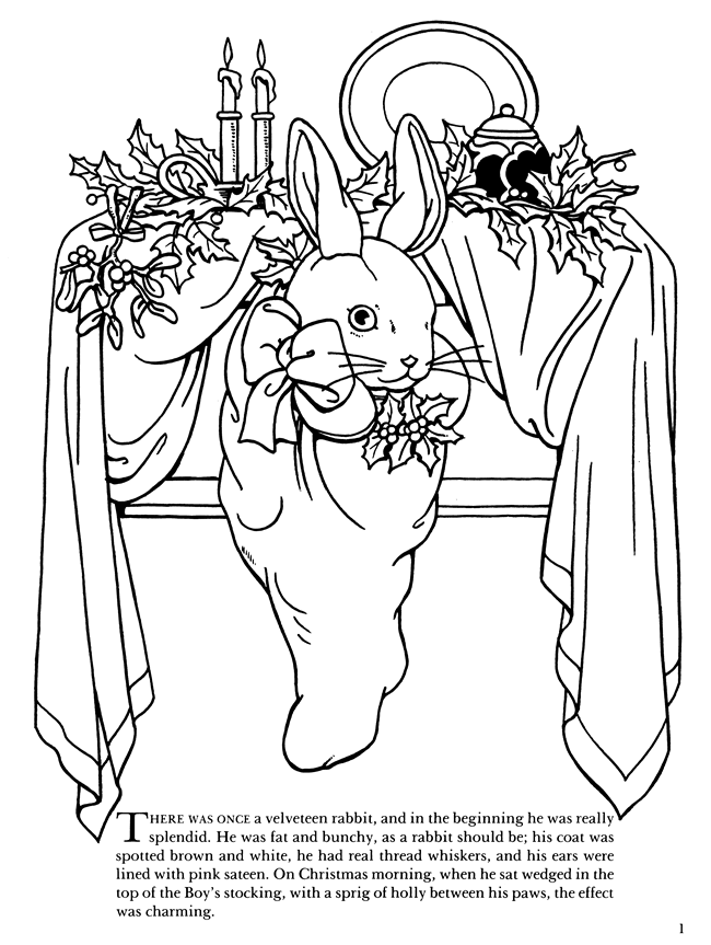 The Velveteen Rabbit Coloring Book: The Complete Story ...