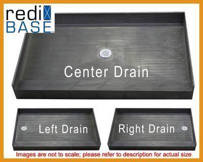 Details About Tile Ready Shower Base 42 X 60 Multi Curb Shower