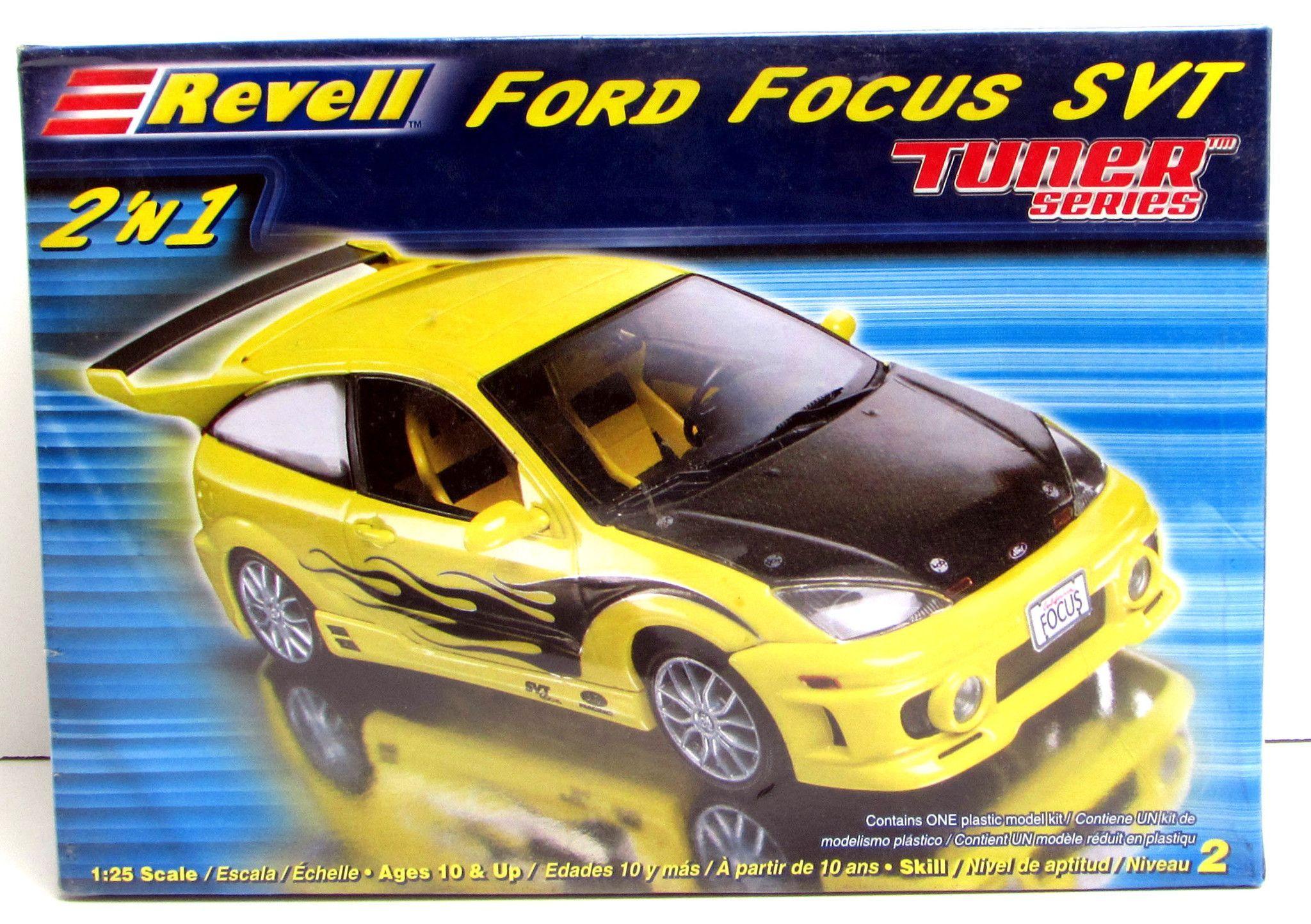 Ford focus svt tuner series revell 85 2187 1 25 new car model
