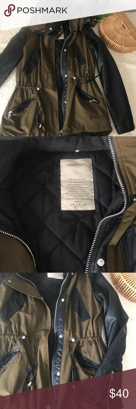 Zara Trafaluc Jacket Fashion Clothes Design Jackets [ 1740 x 580 Pixel ]