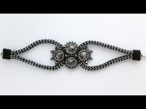 theheartbeading orion bracelet part 1 2 youtube beads videos pinterest armband. Black Bedroom Furniture Sets. Home Design Ideas