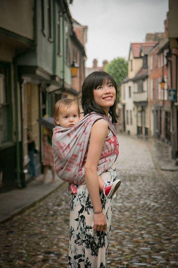 Size 4 Guillemot Baby Wrap Babywearing Slings Pinterest