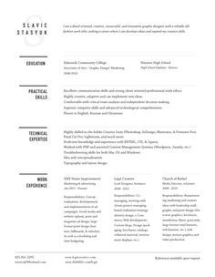 Minimal Resume Designs  Google Search  Resume