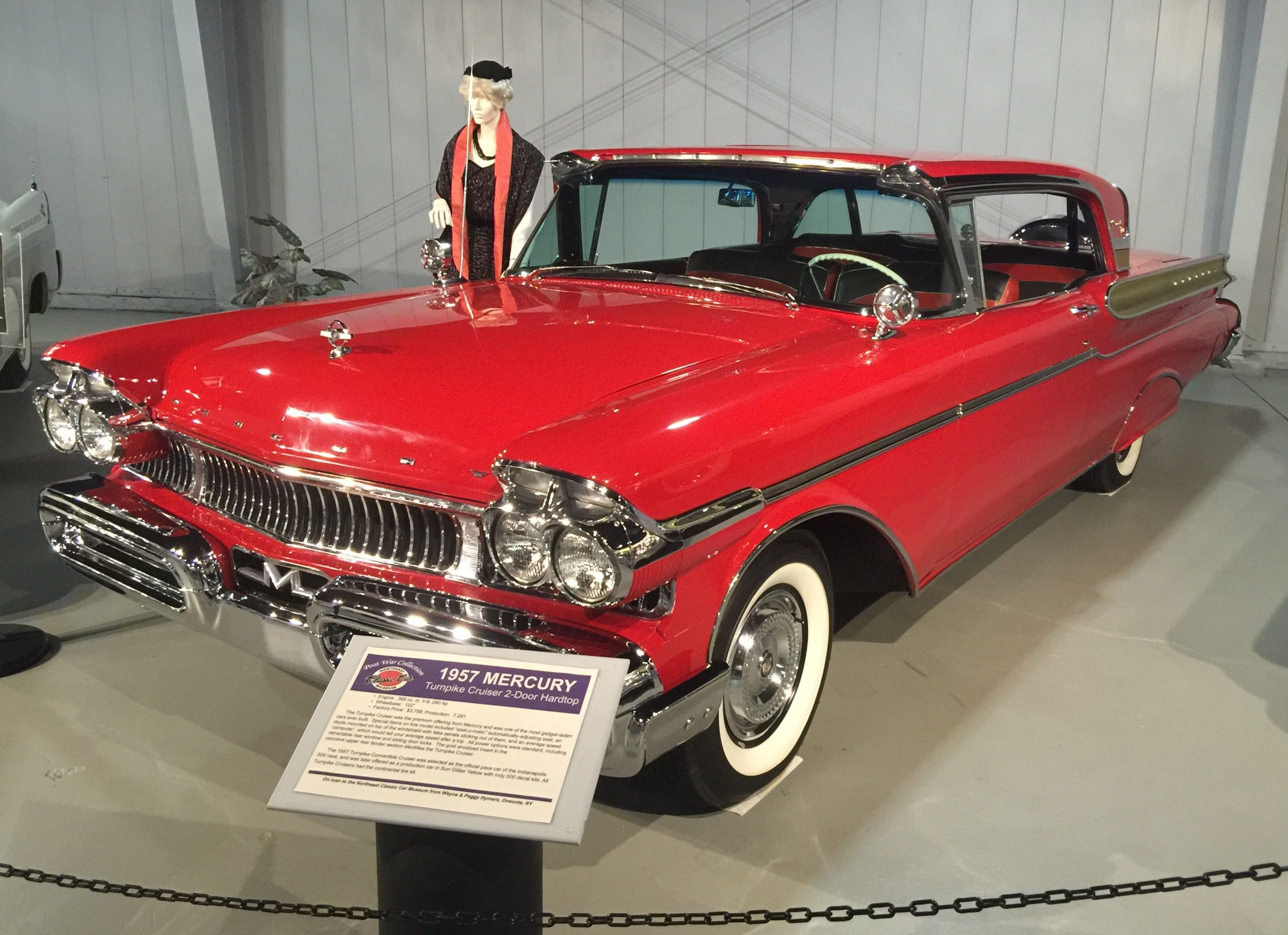1957 mercury turnpike cruiser northeast classic car museum norwich ny mercury cars classic cars lincoln cars pinterest