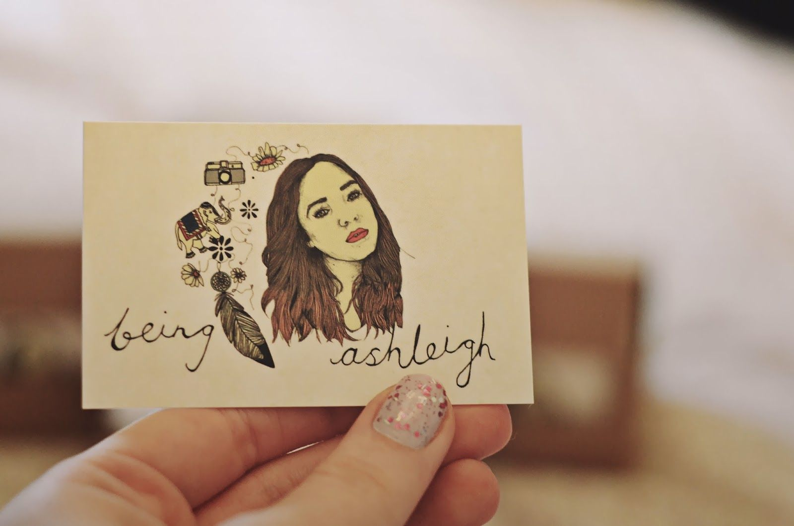 Being Ashleigh Instant Print Blog Business Cards Classic Business Card Business Stationery Business Cards And Flyers