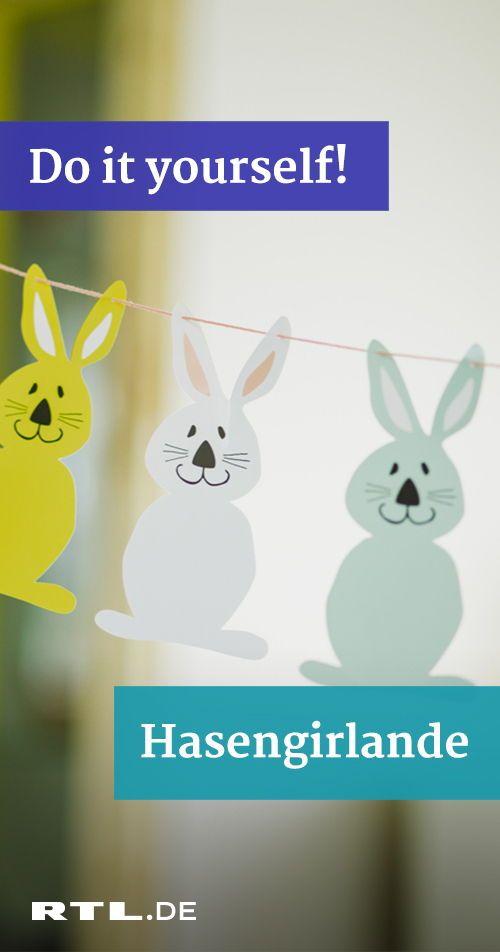 Anleitungen für Oster-Dekorationen: Drei einfache und schnelle Bastelideen #hoppyeaster