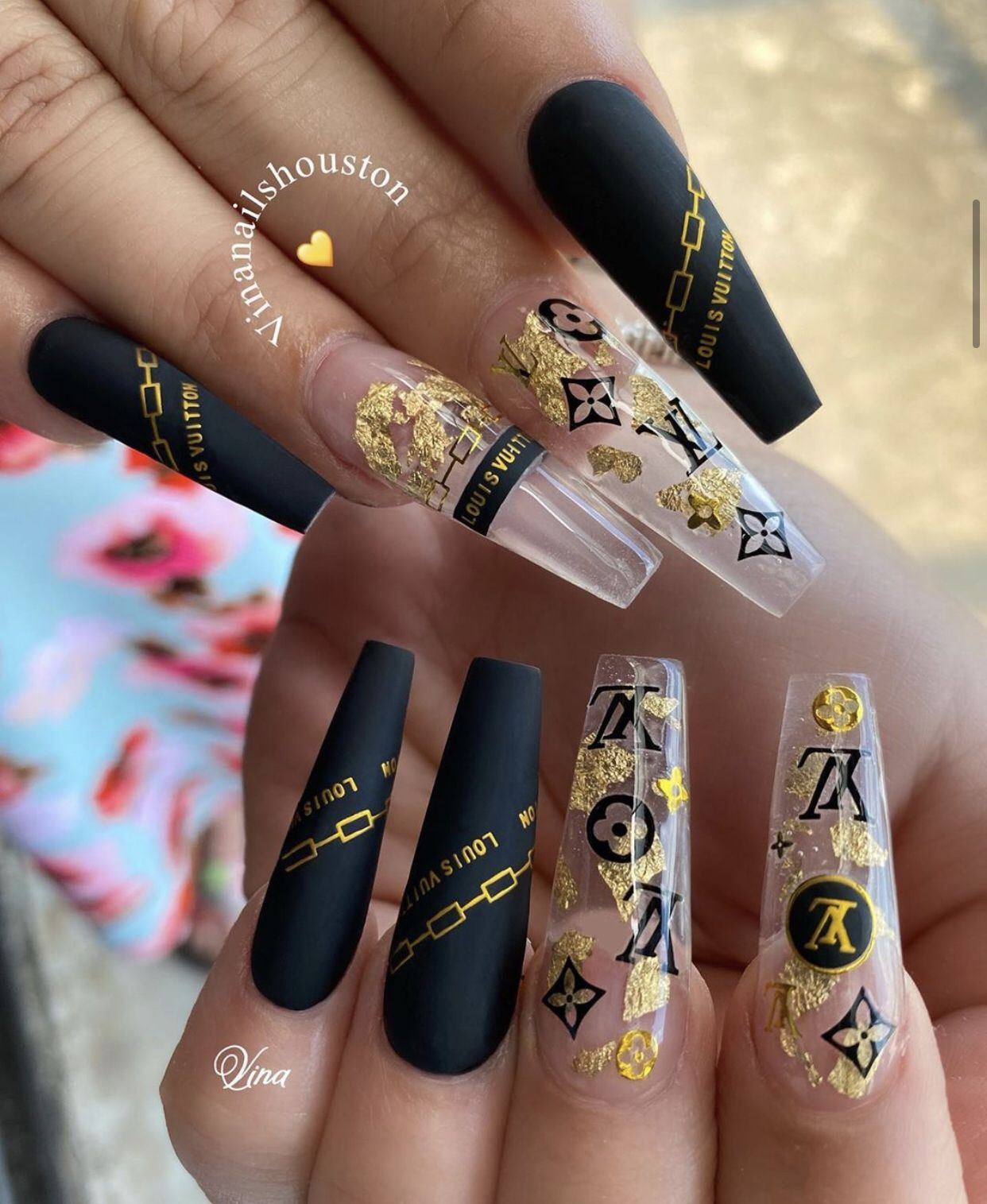 High Fashion Nails Lv Nails Acrylic Nail Designs Louis Vuitton Nails Nails In 2020 Cute Acrylic Nail Designs Acrylic Nail Designs Fashion Nails