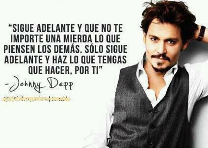 frases de famosos Johnny depp quotes, Cool words