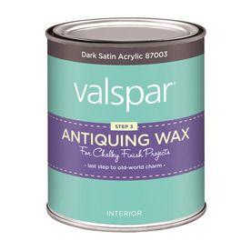 Valspar Chalky Paint Interior Satin Clear Latex-Base Paint (Actual Net Contents: 16 Fluid Oz.)