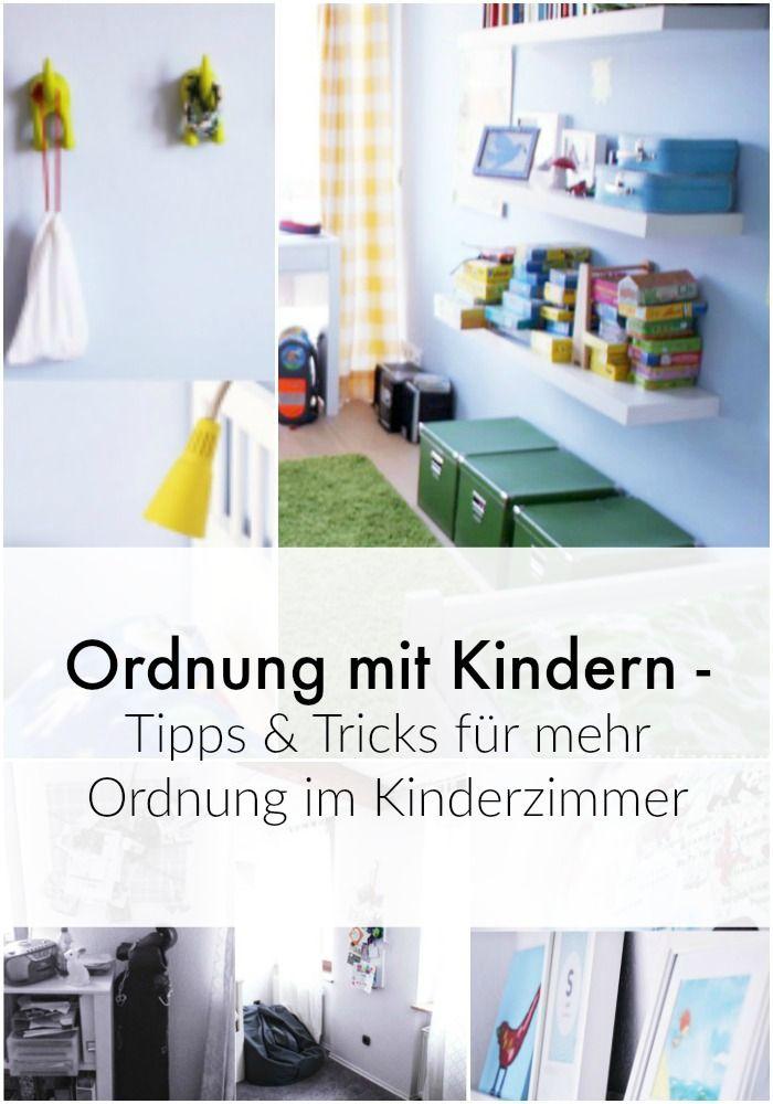 Ordnung mit Kindern - Teil 1: Kinderzimmer aufräumen | Pinterest | Bande