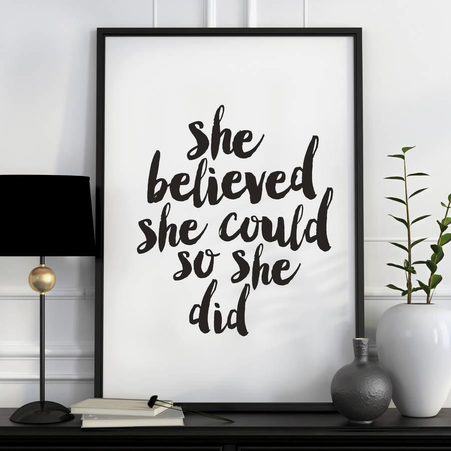She believed she could so she did azondp