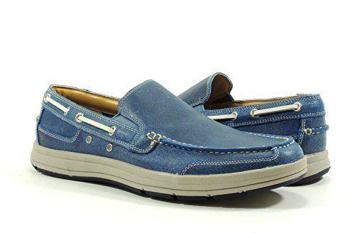 Cole Haan Men's Travel Venetian II Loafer (Ocean Suede, ...