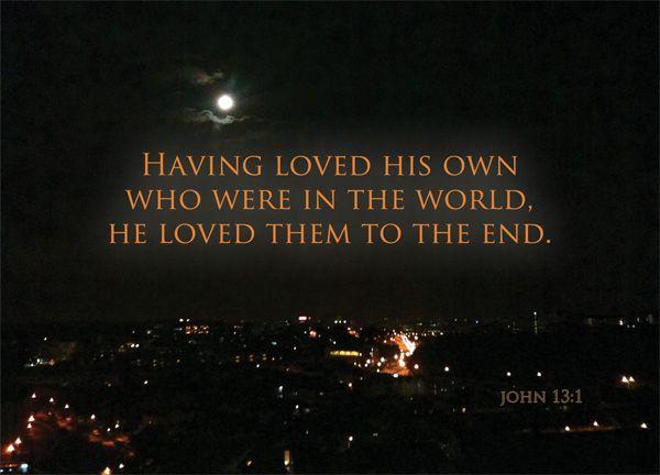 Jn 13 1 Quotes To Live By John John 13
