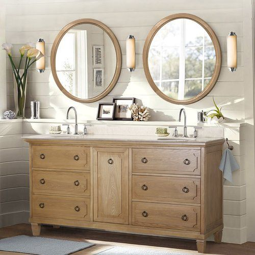 60 inch vanity with double sink. Found it at Joss  Main Susan 60 Double Bathroom Vanity Inch VanityDouble Sink 105
