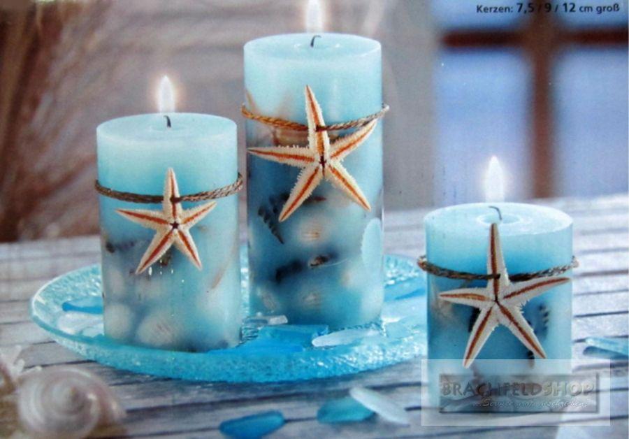 Maritimes Badezimmer Bnbnews Beach House Decor Candles Pillar Candles