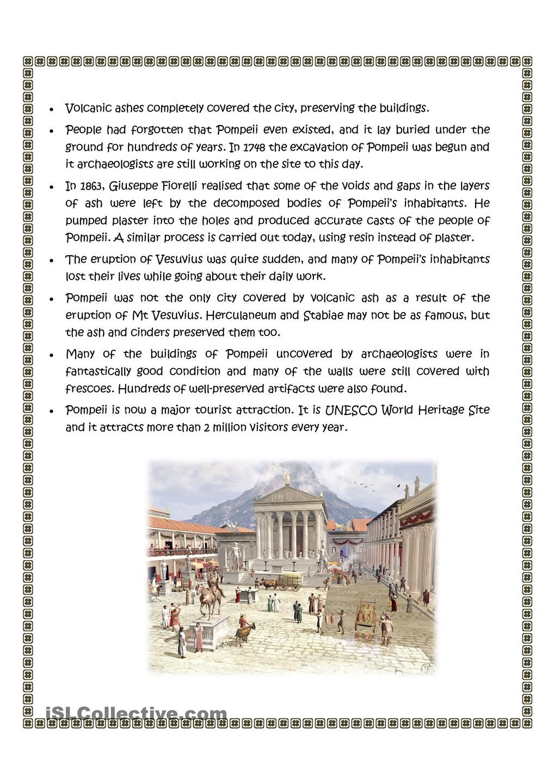 Worksheets Pompeii Worksheet pompeii italy unit pinterest worksheets and worksheet free esl printable made by teachers