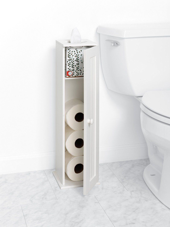 Amazon Com Zenna Home 9153ww Cottage Collection Bathroom Tissue Stand White 7 2 3 Inche Bathroom Redecorating Yellow Bathroom Walls Yellow Bathroom Decor