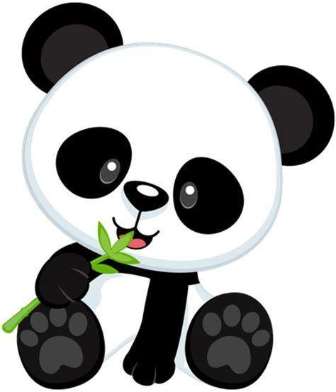 Resultado de imagem para panda clipart | caratulas | Pinterest ...