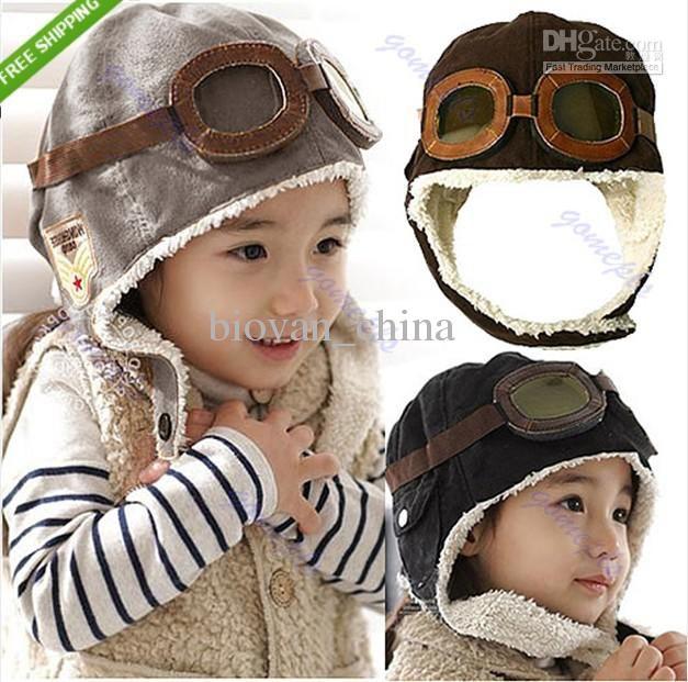 7a28a1bf3f5148 Wholesale Earflap - Buy New Cute Baby Toddler Boy Girl Kids Pilot Aviator Cap  Warm Hats Earflap Beanie, $3.2 | DHgate