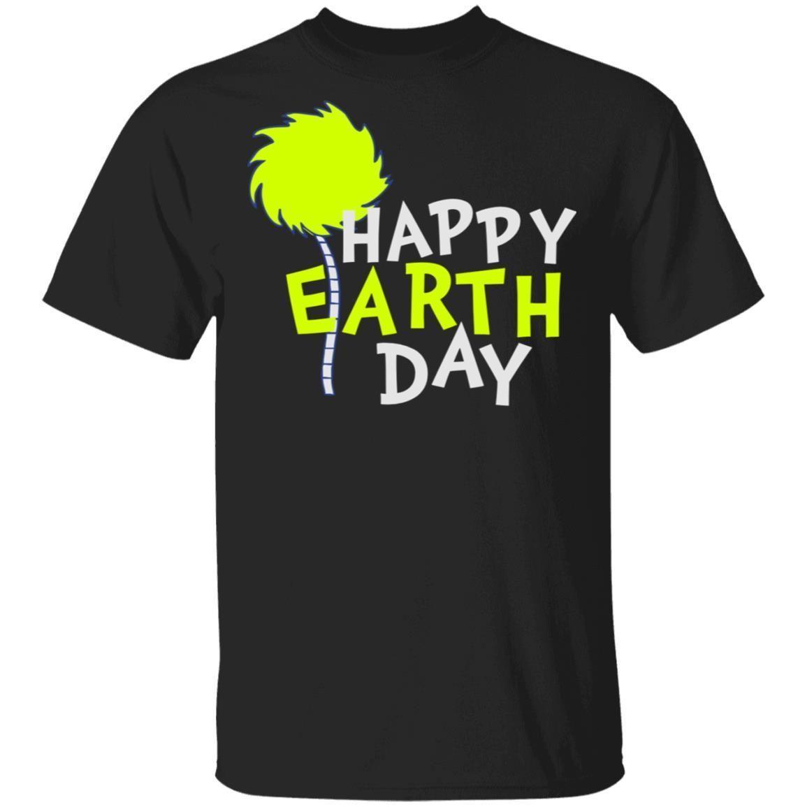 Happy Earth Day T Shirt G500 Gildan 5 3 Oz T Shirt Navy Xl In 2020 Happy Earth Shirts T Shirt