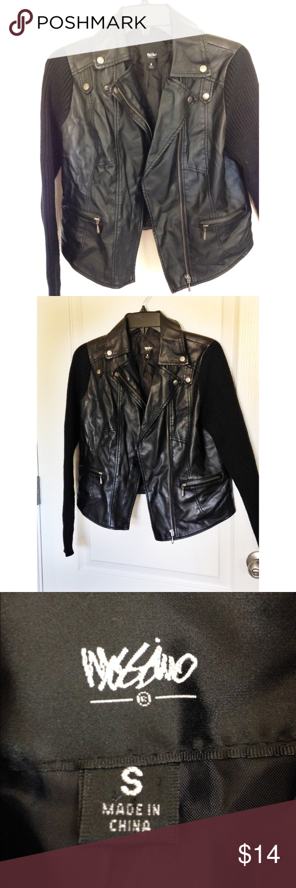Black Faux Leather Jacket Black Faux Leather Jacket Leather Jacket Faux Leather Jackets [ 1740 x 580 Pixel ]