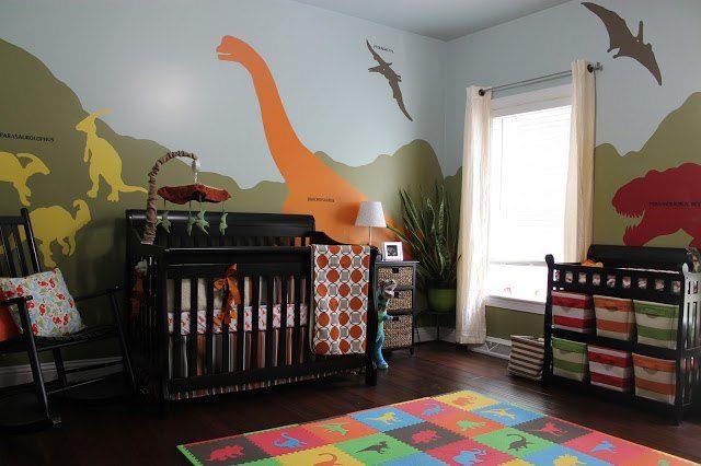 Diy Dinosaur Themed Nursery With